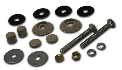 S.R.Smith 67-209-911-SS-TP Residential Diving Board Mounting Kit, Taupe