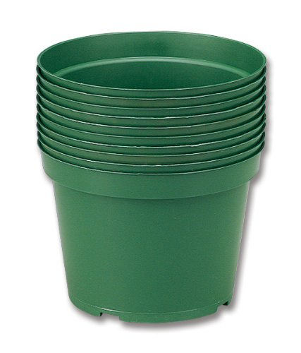 Neo Sci 01-1177 High Impact Plastic Flower Pot, 6' Diameter (Pack of 10)