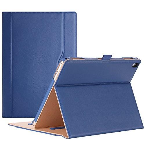 ProCase Lenovo Tab 4 10 Plus Case - Stand Folio Case Protective Cover for Lenovo Tab 4 10.1' Plus Android Tablet 2017 Release ZA2T0000US -Navy