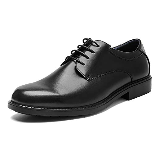 Bruno Marc Men's Downing-02 Black Leather Lined Dress Oxford Shoes Size 15 M US