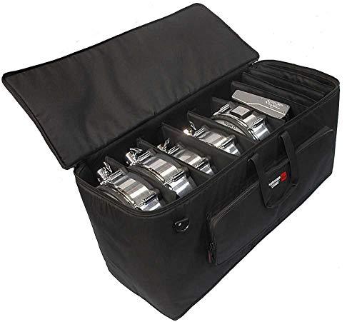 Gator Cases Large Electric Drum Kit Bag with Adjustable Velcro Divider System and Wheels; (GP-EKIT3616-BW)