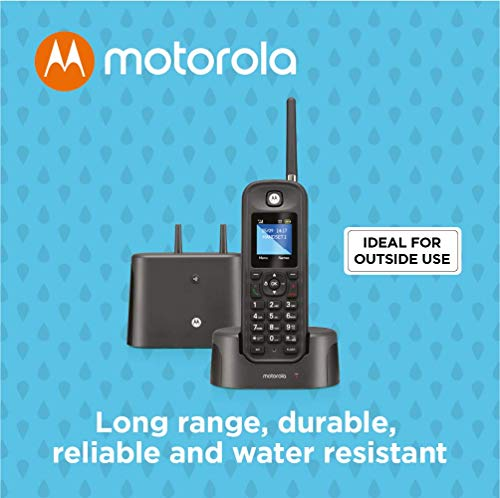 Motorola O211 Indoor/Outdoor Digital Cordless Phone with Answering Machine