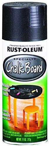 Rust-Oleum 1913830-6 PK Specialty Chalkboard 1913830 Spray Paint 12 oz, Black, 6-Pack, 6 Pack