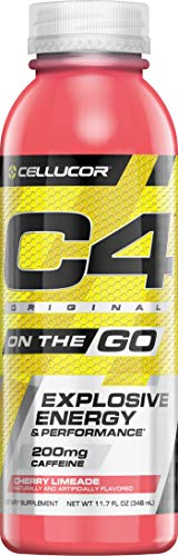 Cellucor, C4 on the Go, Explosive Energy Pre-Workout Supplement, Cherry Limeade, 12 Count