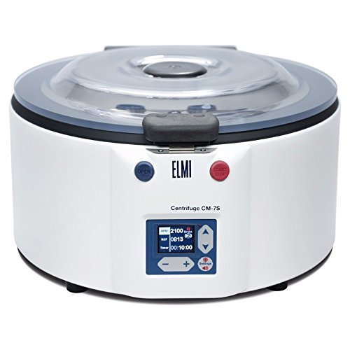 ELMI CM-7S Benchtop Swing Out Centrifuge, 24 mL x 15 mL Rotor 6M.02 Included
