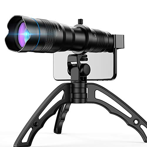 Apexel High Power 36x HD Telephoto Lens with Tripod for iPhone XR,XS MAX,XS,X,8,7,6,6Plus Android Smartphone