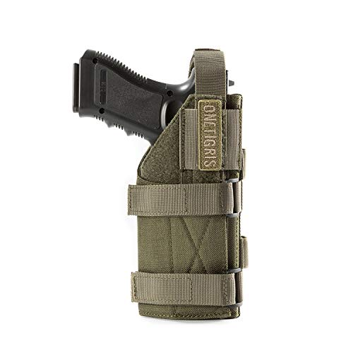OneTigris Minimalist Pistol Holster for 1911 45 92 96 Glock (Ranger Green)