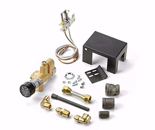 Dreffco Gas Vented Gas Log Fireplace Safety Pilot Kit (90K BTU Natural Gas)