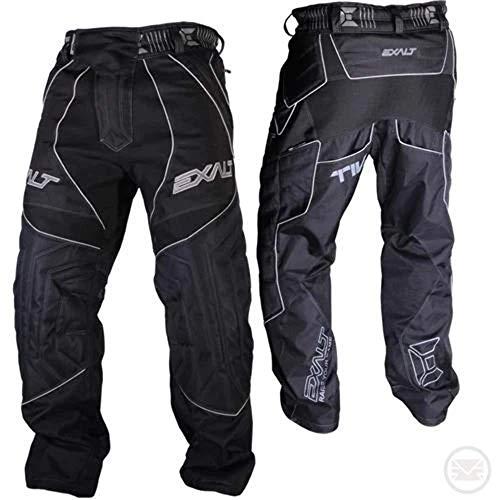 Exalt Paintball T4 Pants (Black/Grey, L)