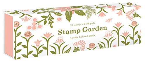 Stamp Garden: (25 stamps, 2 ink colors, assorted plant and flower parts, perfect for scrapbooking, printmaking, diy crafts, and journals)