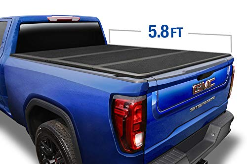 Tyger Auto T5 Alloy Hardtop Truck Bed Tonneau Cover for 2014-2019 Chevy Silverado/GMC Sierra 1500 2019 Classic ONLY Fleetside 5.8' Bed TG-BC5C1006