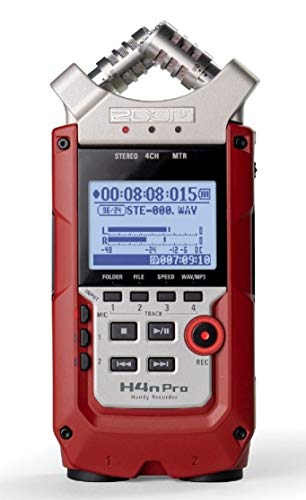 Zoom DAT Recorder, Red (H4nProRED)