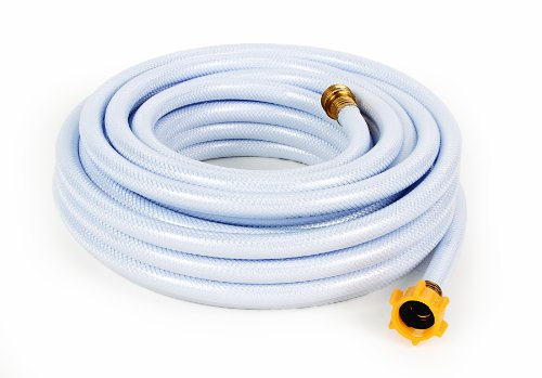 Camco 50ft TastePURE Drinking Water Hose - Lead and BPA Free, Reinforced for Maximum Kink Resistance 1/2'Inner Diameter (22753)