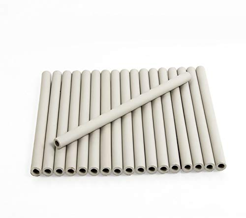 Zljiont Replacement Gas Grill Ceramic Radiants, BBQ Grill Ceramic Rods for DCS Heat Plates, for DCS Grill 245398, DCSCT, 9.5' Long (18)