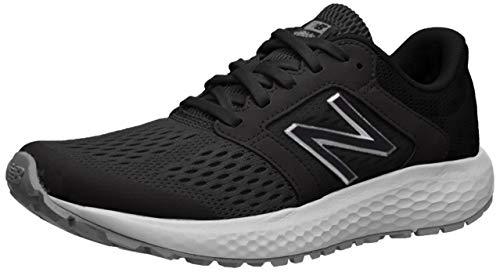 New Balance Women's 520 V5 Running Shoe, Black/White, 7.5 W US