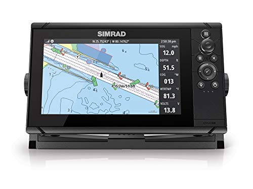 Simrad Cruise-9 Chart Plotter with 9-inch Screen and US Coastal Maps Installed