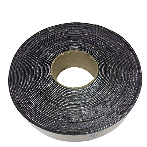 EWT (615) Asphalt Tarmac Parking lot Joint and Crack Sealer Hot Repair Filler Tape 50 FT Long (2 inchs x 50ft Tape)