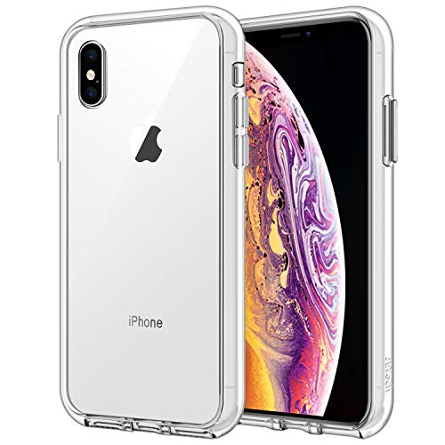 JETech Case for Apple iPhone Xs and iPhone X, Shockproof Bumper Cover, HD Clear