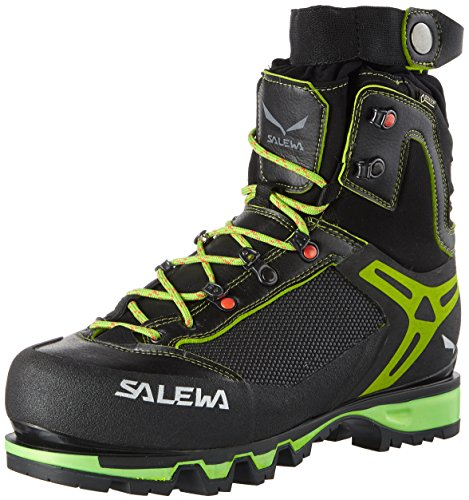 Salewa Men's VULTUR Vertical GTX-M Climbing Boot, Black/Cactus, 9.5