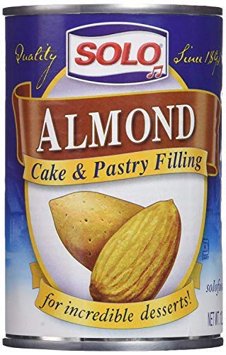 Solo Almond Cake and Pastry Filling, 12.5 ounces (Pack of 3)