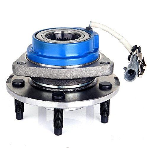 ECCPP 513121 Wheel Bearing Hub Front Wheel Hub and Bearing Assembly Allure, Aurora, Bonnevile, Century, Impala 5 Lug W/ABS