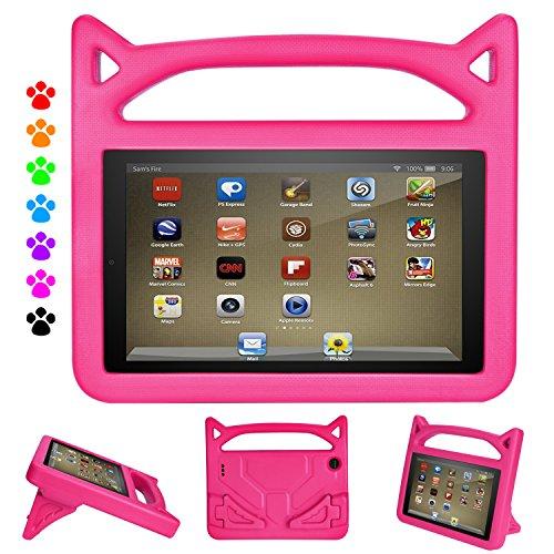 Kindle Fire 7 Case,Fire Tablet 7 Case,Amazon Fire 7 Case for Kids-Dinines Kids Shock Proof Protective Cover Case for Amazon Fire 7 Tablet (Compatible with 2019&2015&2017 Release)