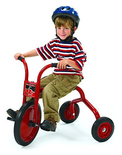 """Angeles ClassicRider 14"""" Trike Bike, Red – Perfect for Beginner Riders Ages 4+ – Encourages Active Play – Supports Up to 70lbs. – Durable Design with Built-In Safety Features – Comfortable Ride"""