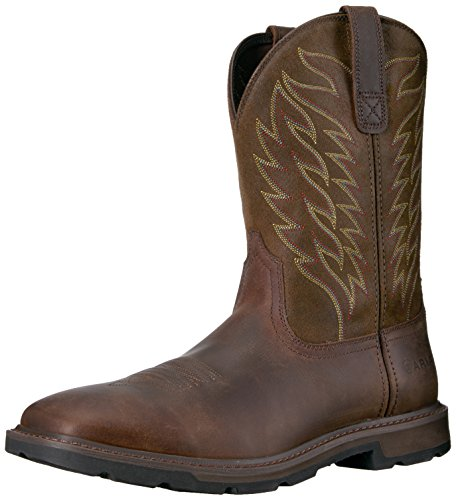 Ariat Men's Groundbreaker Boot, Brown, 9 D US