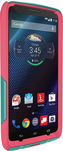 Otterbox 77-50190 Droid Turbo By Motorola Commuter Series Case- Carrying Case - Retail Packaging - Teal Rose