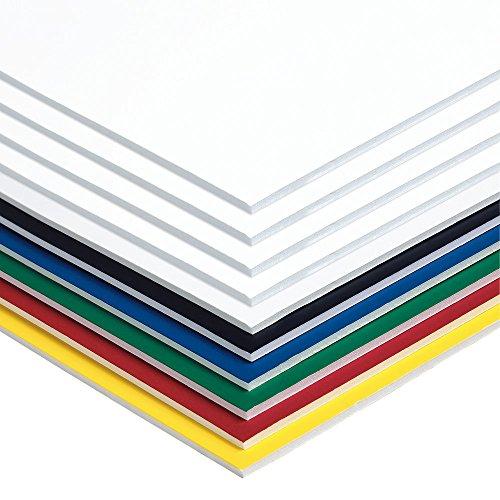 UCreate Foam Board, 6 Assorted Colors, No UPCs, 20' x 30', 10 Boards