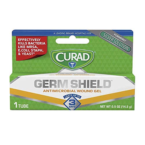 Curad - CUR45951RB Germ Shield Antimicrobial Gel 0.50 oz (Pack of 2)