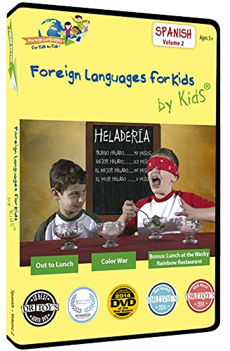 Foreign Languages for Kids by Kids®: SPANISH, Vol. 2. Named DVD of the Year for Foreign Language Education