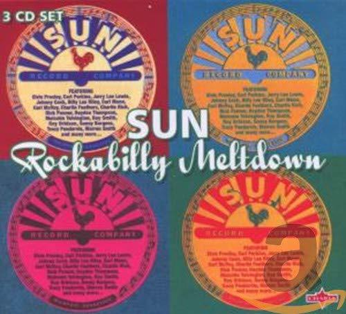 Sun Rockabilly Meltdown ( 3 CD Clambox )