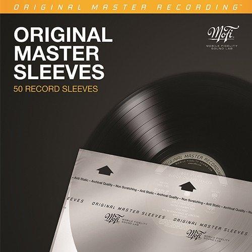 MOBILE FIDELITY SOUND LAB INNER SLEEVES - MOFI MFSL (50 RECORD SLEEVES)