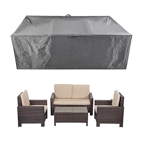 CKCLUU 88' x 58' x 28' Outdoor Patio Furniture Set Covers Waterproof Heavy Duty Durable