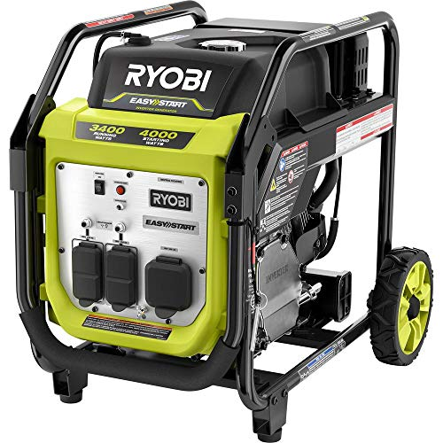 RYOBI RYi4022X 4000-Watt Gasoline Powered Digital Inverter Generator