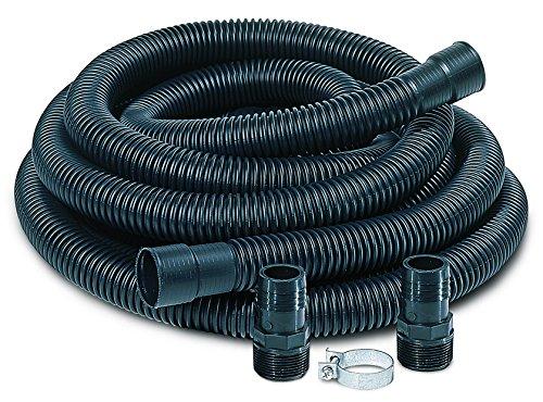 "Little Giant SPDK Sump Pump Discharge Hose Kit, 1-1/4"" Hose – 1-1/2"" & 1-1/4"" Adaptors, 24-Feet"
