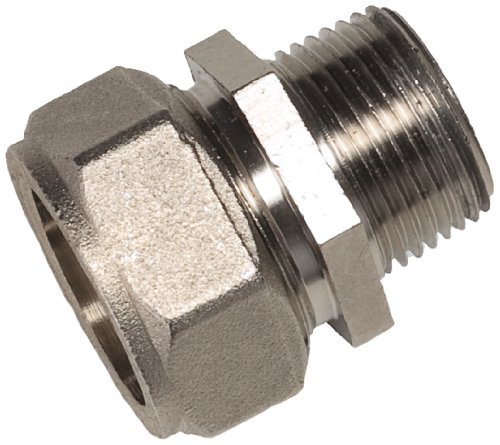 Maxline M8005 Straight Fitting for 3/4-Inch Tubing with 1/2-Inch Male NPT Thread