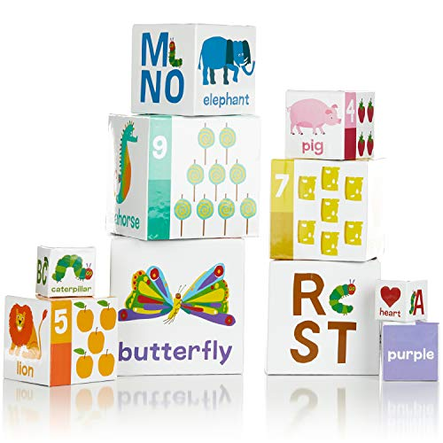 The World of Eric Carle, The Very Hungry Caterpillar Nesting and Stacking Blocks, Stacking Toys