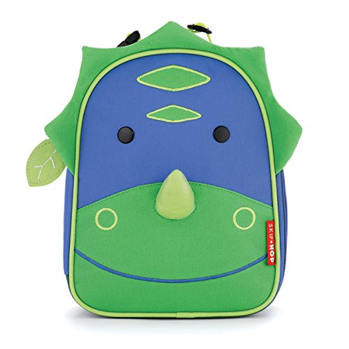 Skip Hop Kids Insulated Lunch Box, Dinosaur