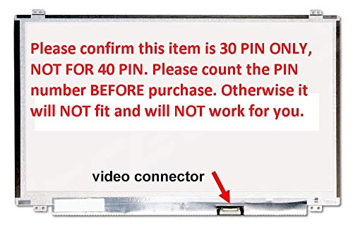 HP 15-F233WM 15-F272WM LCD Screen Replacement for 15.6' New LED Display 30 Pin