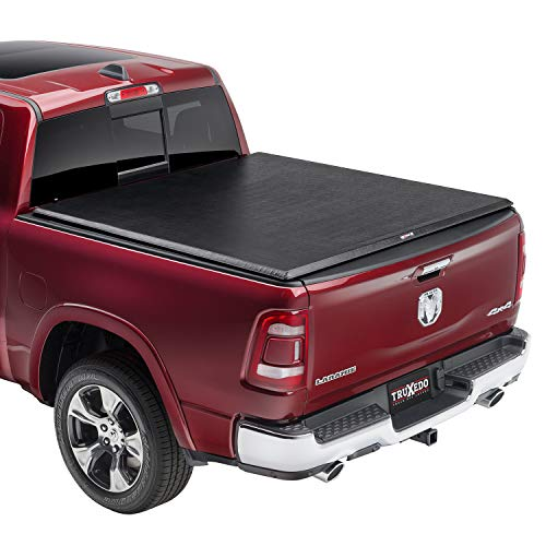 TruXedo TruXport Soft Roll Up Truck Bed Tonneau Cover | 245901 | fits 09-18, 19-20 Classic Ram 1500 with or without Multifunction tailgate 5'7' bed