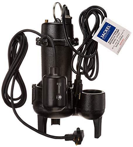 JACKEL 1/2 HP Submersible Sewage Pump (Model: JP550T)