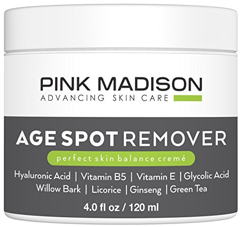 Dark Spot Corrector Best Age Spot Remover Treatment for Face Hands Body Circle 4 Ounce Cream