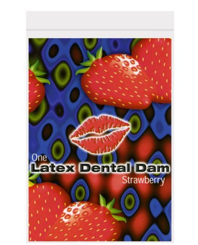 Trust Trustex Dental Dam Strawberry 12 Pack