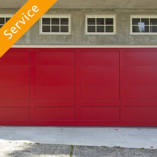 Sectional Garage Door Replacement - Standard Single - 1 Unit