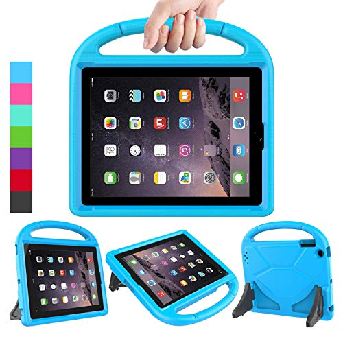 LEDNICEKER Kids Case for iPad 2 3 4 - Light Weight Shock Proof Handle Friendly Convertible Stand Kids Case for iPad 2, iPad 3rd Generation, iPad 4th Gen Tablet - Blue