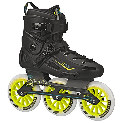 Roller Derby Elite Alpha 125mm 3-Wheel Inline Skate, 10