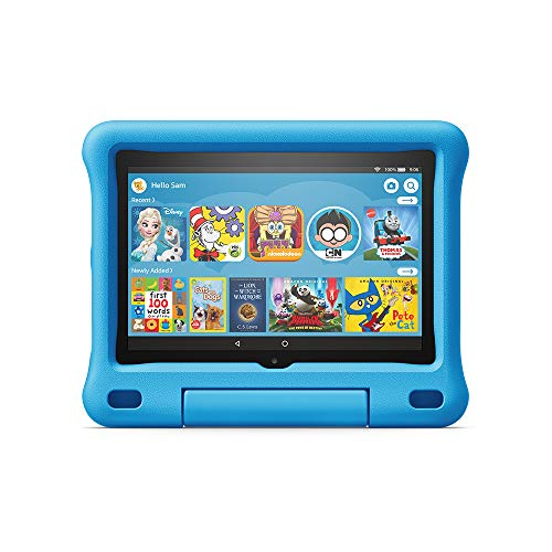 All-new Fire HD 8 Kids Edition tablet, 8' HD display, 32 GB, Blue Kid-Proof Case