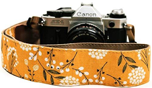 Spring Blossom Flowers Camera Shoulder Strap Belt for All DSLR Camera – Vibrant Design Universal DSLR Strap, Multi Color Neck Belt Best Stocking Stuffer for Men & Women Photographers